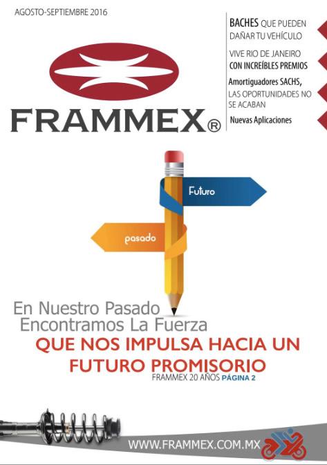 Gaceta bimestral Frammex Agosto - Septiembre 2016