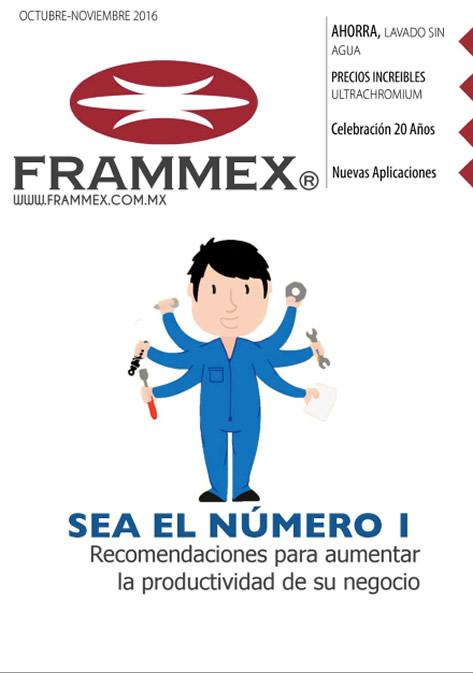Gaceta bimestral Frammex Octubre - Noviembre 2016