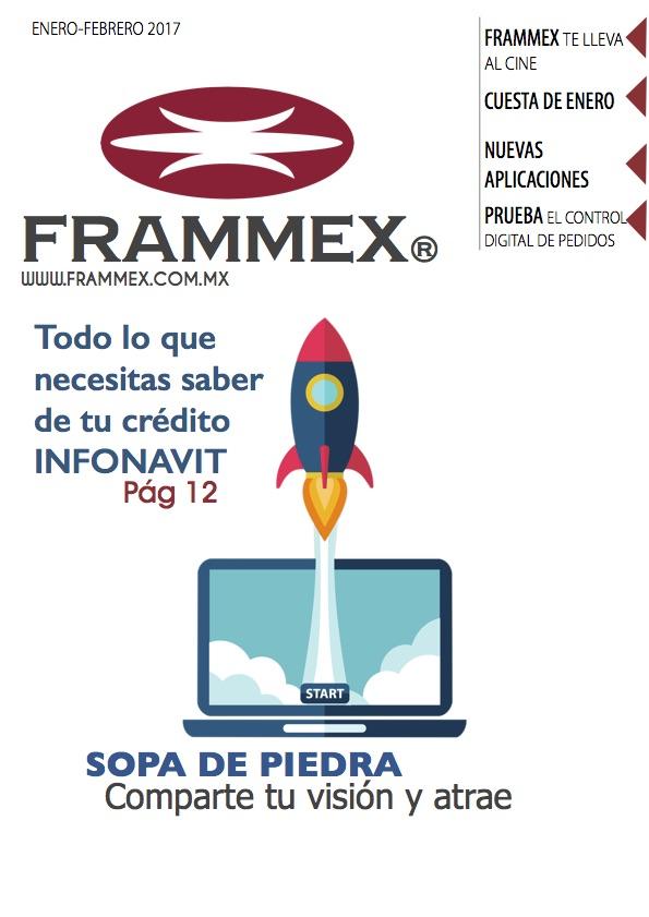 Gaceta bimestral Frammex Enero - Febrero 2017